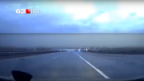 A flash over Samara - Sputnik International