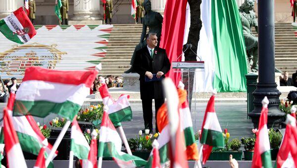 Hungarian Prime Minister Viktor Orban. File photo - Sputnik International