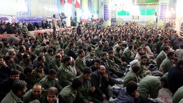 Members of Iran's elite Revolutionary Guard Corps - Sputnik International