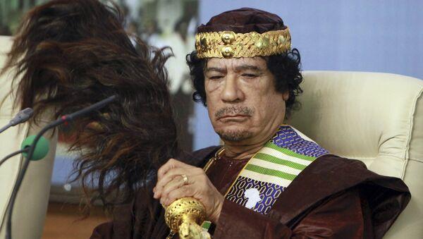 Muammar Gaddafi. File photo - Sputnik International