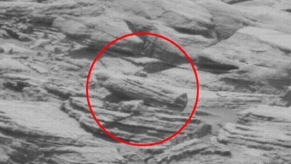 Alien sarcophagus found on Mars - Sputnik International