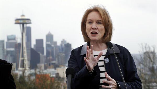 Seattle Mayor Jenny Durkan - Sputnik International