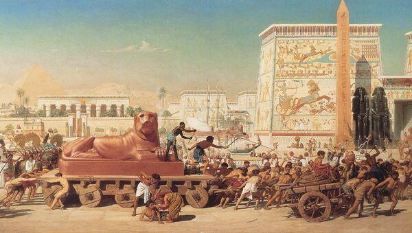 1867 Edward Poynter - Israel in Egypt - Sputnik International