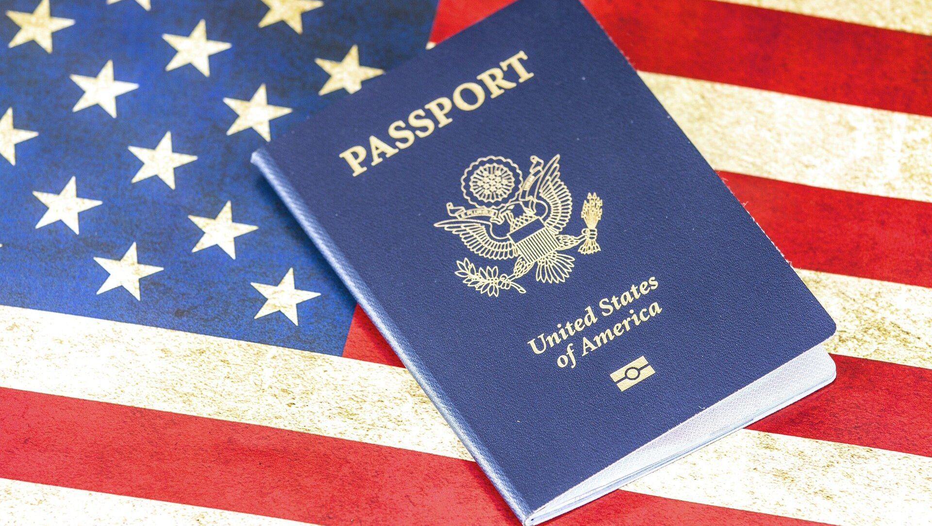 US passport - Sputnik International, 1920, 07.08.2021