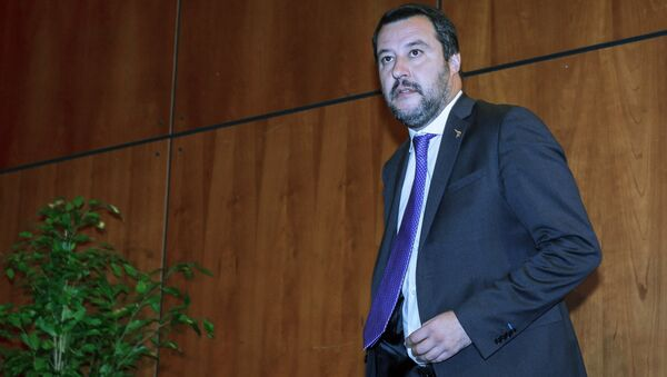 Italy's Deputy Prime Minister and leader of the League Party, Matteo Salvini  - Sputnik International