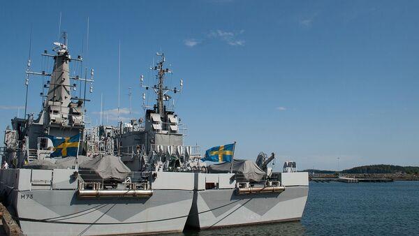 Ships at Berga Naval Base, Sweden - Sputnik International