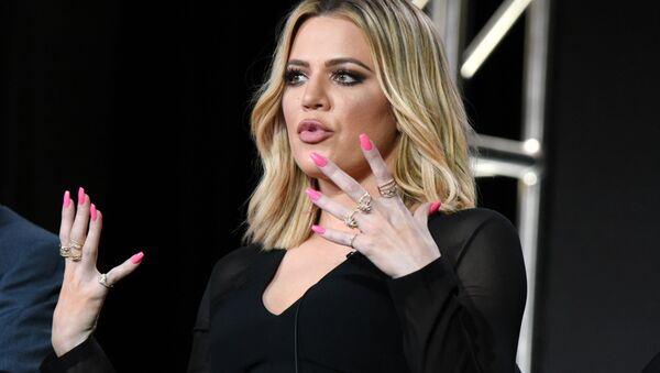 Khloe Kardashian participates in the panel for Kocktails with Khloe at the FYI 2016 Winter TCA on 6 January 2016, in Pasadena, California.  - Sputnik International