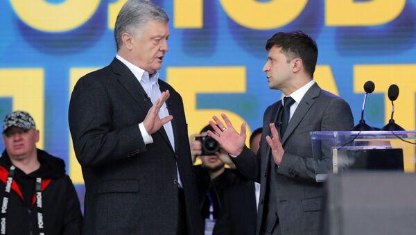 Dibates of Ukrainian presidential candidates. - Sputnik International