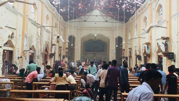 St.Sebastian's Church,Katuwapitiya,Negombo,Sri Lanka. - Sputnik International