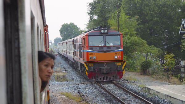 A train in Thailand's Aranyaprathet (File photo). - Sputnik International