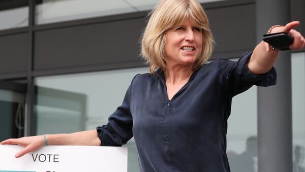 Rachel Johnson, candidate for the new pro-EU political party, Change UK poses after the launch of their European election campaign in Bristol on April 23, 2019 - Sputnik International