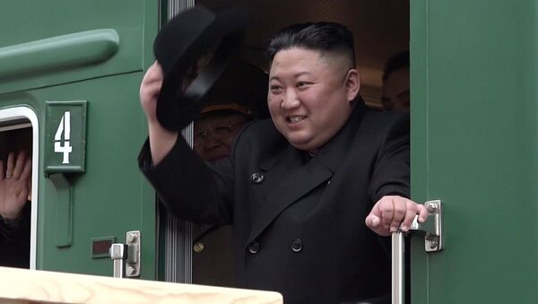 The leader of the DPRK Kim Jong-un arrived in Russia - Sputnik International