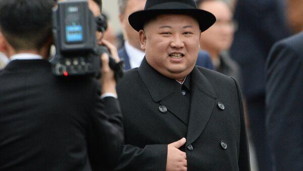 The leader of the DPRK Kim Jong-un arrived in Vladivostok - Sputnik International