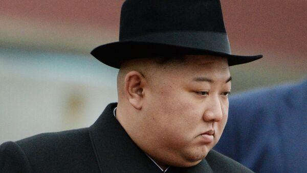 North Korean leader Kim Jong-un arrives in Vladivostok, Russia, 24 April, 2019 - Sputnik International