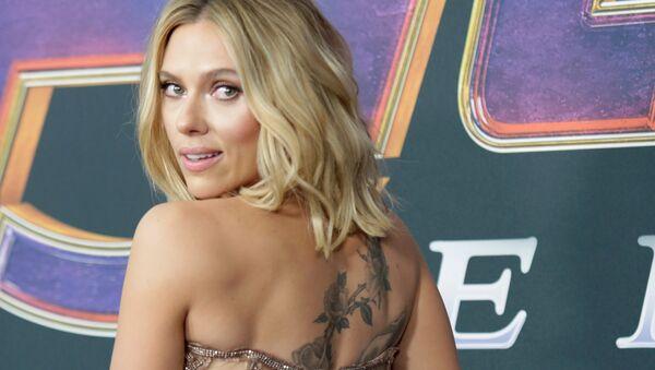 Cast member Scarlett Johansson at the world premiere of movie Avengers: Endgame in Los Angeles, California, U.S., April 22, 2019 - Sputnik International