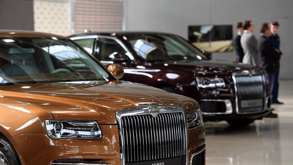 The first sales of Russian Aurus luxury cars, which are part of the Kortezh project, through the dealership network will begin in 2020, a slight delay from the initially planned start in the second half of 2019, the Avilon company told Sputnik on Monday. - Sputnik International
