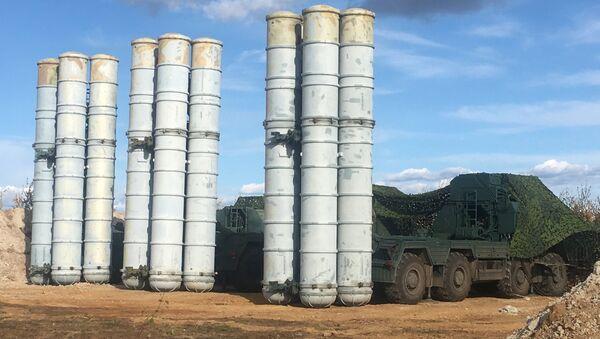 Russian S-400 Triumph missile system  - Sputnik International