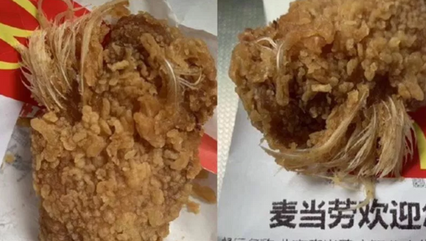 Chinese woman finds feathers in McDonald's chicken wing - Sputnik International