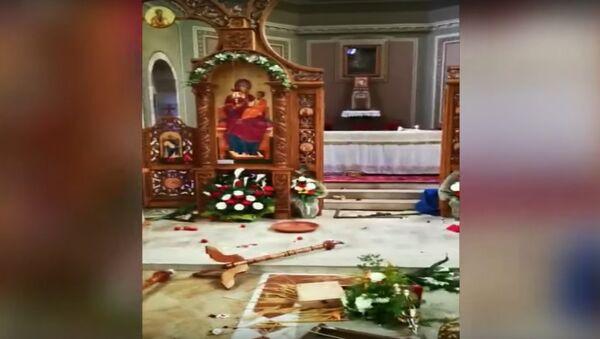 CESENA: Chiesa del Lugaresi, due rumeni arrestati, troppo ubriachi per ricordare - Sputnik International