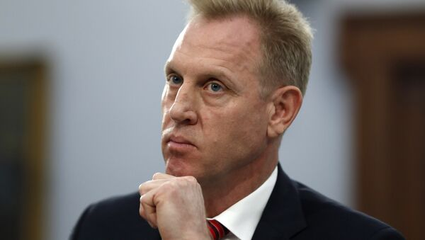 Acting Defense Secretary Patrick Shanahan listens, Wednesday May 1, 2019, during a House Appropriations subcommittee on budget hearing - Sputnik International