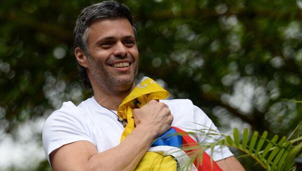 Venezuelan opposition politician Leopoldo Lopez - Sputnik International