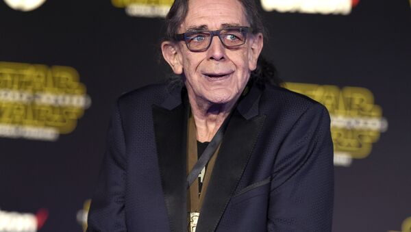 Peter Mayhew arrives at the world premiere of Star Wars: The Force Awakens at the TCL Chinese Theatre on Monday, Dec. 14, 2015, in Los Angeles. - Sputnik International