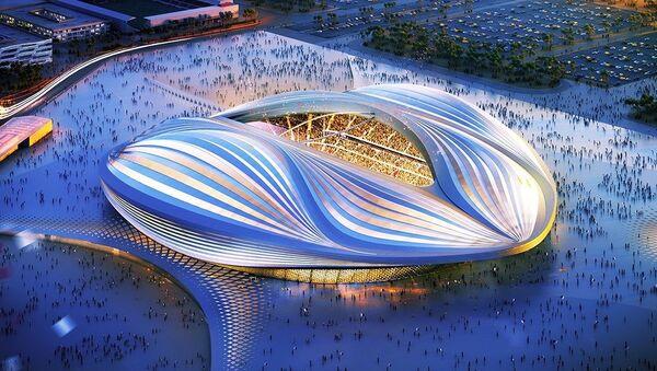 Al Wakrah Stadium Design - Sputnik International