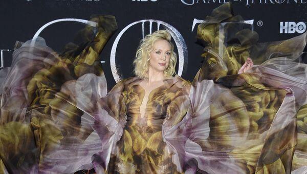 Gwendoline Christie attends HBO's Game of Thrones final season premiere - Sputnik International