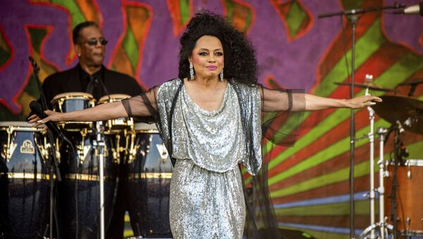 Diana Ross performs at the New Orleans Jazz and Heritage Festival on Saturday, May 4, 2019 in New Orleans - Sputnik International