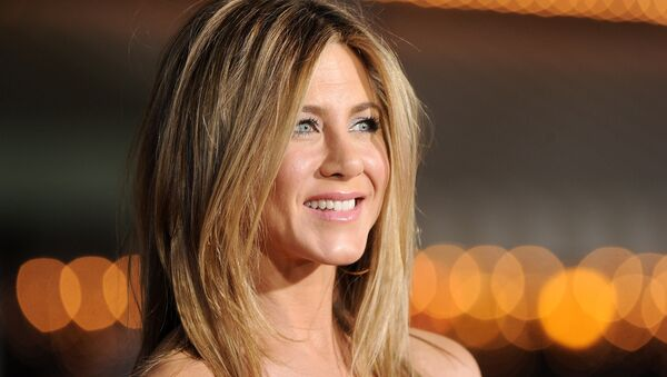 Actress Jennifer Aniston arrives at the premiere of Universal Pictures' Wanderlust held at Mann Village Theatre on February 16, 2012 in Westwood, California. - Sputnik International