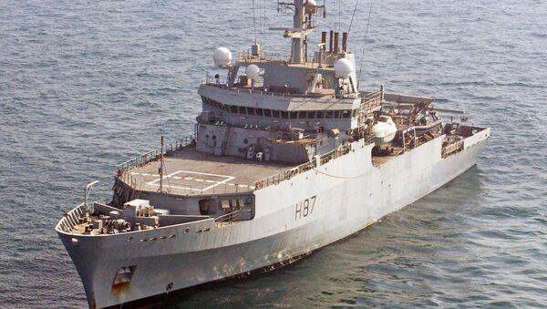 Royal Navy survey vessel HMS Echo - Sputnik International