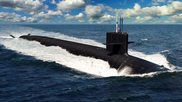 An artist rendering of the future Columbia-class ballistic missile submarines - Sputnik International
