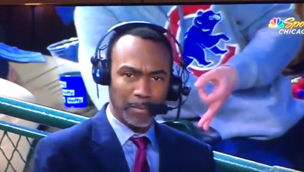 US Baseball Fan Flashes Apparent White Power Sign on Air - Sputnik International