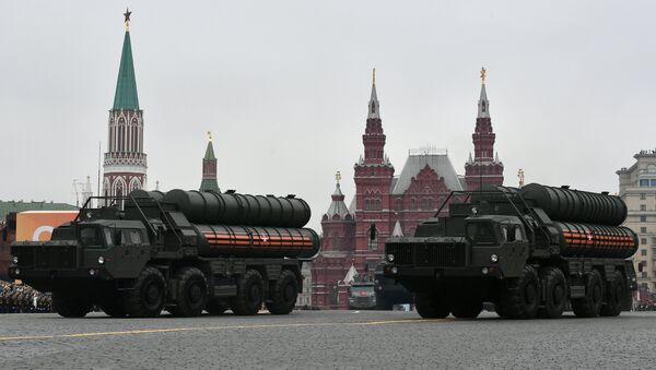 The S-400 missile systems during a military parade in Moscow on 9 May, 2019 - Sputnik International