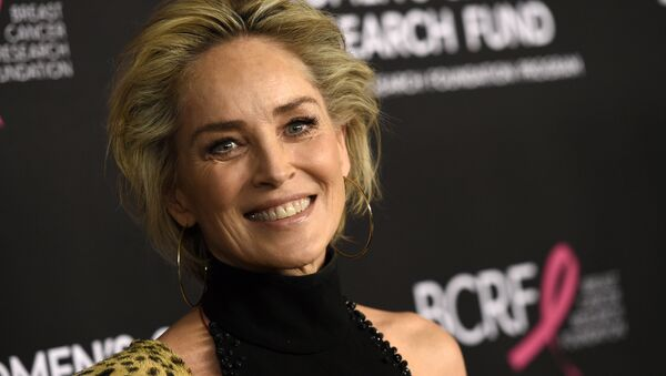 Actress Sharon Stone poses at An Unforgettable Evening benefiting the Women's Cancer Research Fund, at the Beverly Wilshire Hotel, Thursday, 28 February 2019, in Beverly Hills, California. - Sputnik International