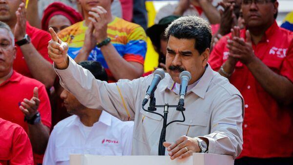 Nicolás Maduro, presidente de Venezuela - Sputnik International