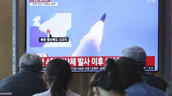North Korean missile launch - Sputnik International