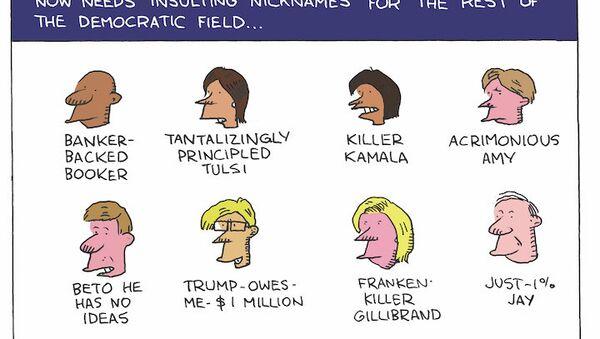 Trump's Name Game - Sputnik International