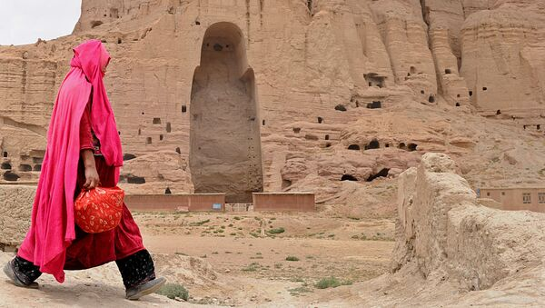 Buddha Statues That Once Stood in the City of Bamiyan - Sputnik International