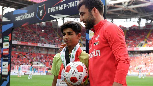Касим Алькадим из Ирака посетил футбольный матч в Москве - Sputnik International