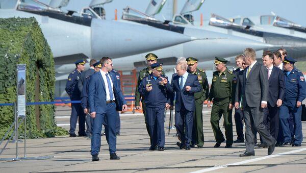 Work Visit of Russia's President Vladimir Putin to Astrakhan region - Sputnik International
