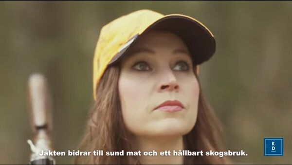 Screenshot from the Swedish Christian Democrats' 2019 EU election film - Sputnik International
