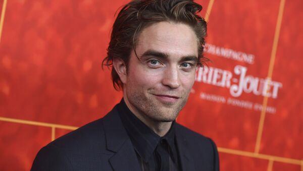 Robert Pattinson arrives at the 2018 amfAR Inspiration Gala Los Angeles on Thursday, Oct. 18, 2018 in Beverly Hills, Calif. - Sputnik International