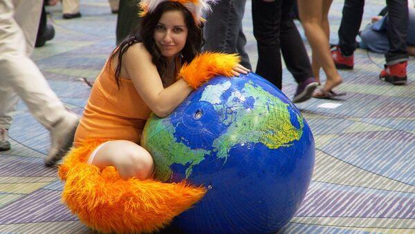 Mozilla Firefox cosplay - Sputnik International