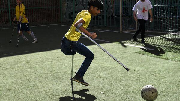 Iraqi Boy Qassem Qadim in Moscow - Sputnik International