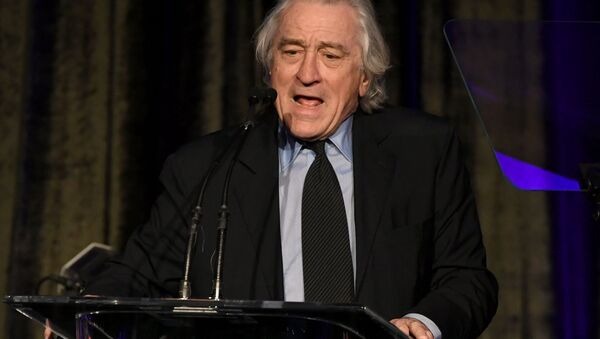 Robert De Niro speaks onstage at the American Icon Awards at the Beverly Wilshire Four Seasons Hotel on May 19, 2019 in Beverly Hills, California - Sputnik International