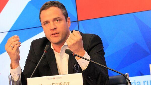 Freedom Party of Austria (FPO) Ex-Deputy Chairman Johann Gudenus - Sputnik International