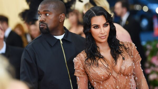 Kim Kardashian West and Kanye West attend The 2019 Met Gala Celebrating Camp: Notes on Fashion at Metropolitan Museum of Art on May 06, 2019 in New York City. - Sputnik International