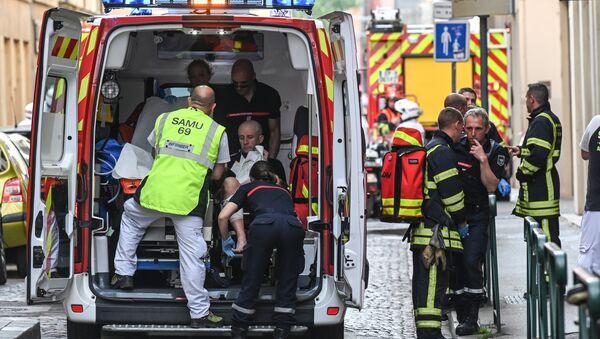 Ambulance in Lyon, France - Sputnik International