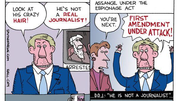Indictment-Induced Assange Anxiety - Sputnik International